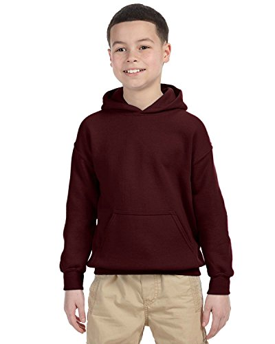 Indica Plateau Kids Hoodie Its About to Get Messi Large Maroon Hoodie by Indica Plateau (Image #2)