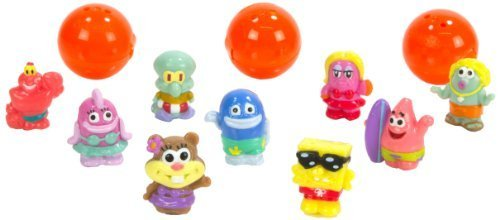 Squinkies (Puni' Keys) 12 Piece Bubble Pack Sponge Bob series 2 [parallel import - Spongebob Squinkies