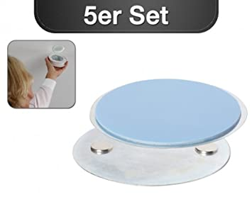 Magnetolink - Set de fijaciones para detectores de humo, 5 unidades: Amazon.es: Bricolaje y herramientas
