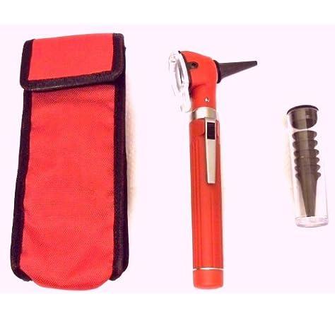 Otoscopio compacto ENT con bombilla y espéculo de repuesto: Amazon.es: Salud y cuidado personal