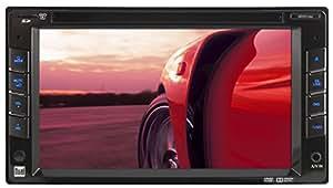 "Dual XDVD210 6.2"" Touchscreen DVD Receiver 2.0 DIN Multimedia DVD Receiver"