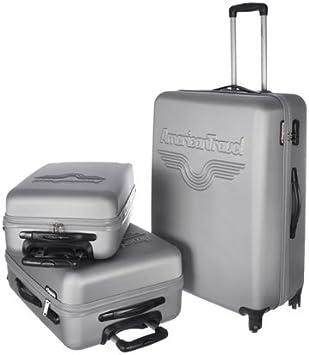 acortar nada oportunidad  American Travel - Maleta , gris (gris) - 9000002505948: American Travel:  Amazon.es: Equipaje