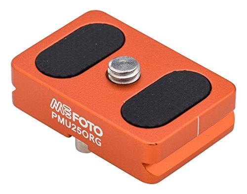 MeFOTO BackPacker Air Camera Plate - Orange