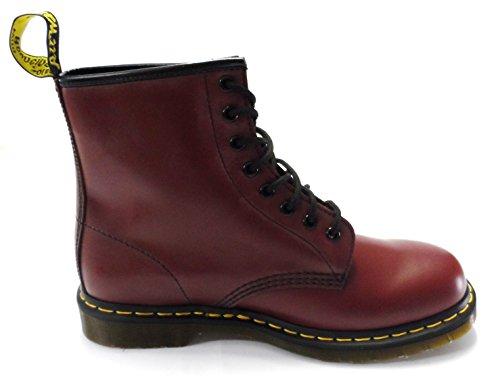 Martens Red Martens Kvinne Glatt Boots Dr Smooth Cherry Red Women's 1460 Cherry Dr 1460 Støvler 8zz5q6