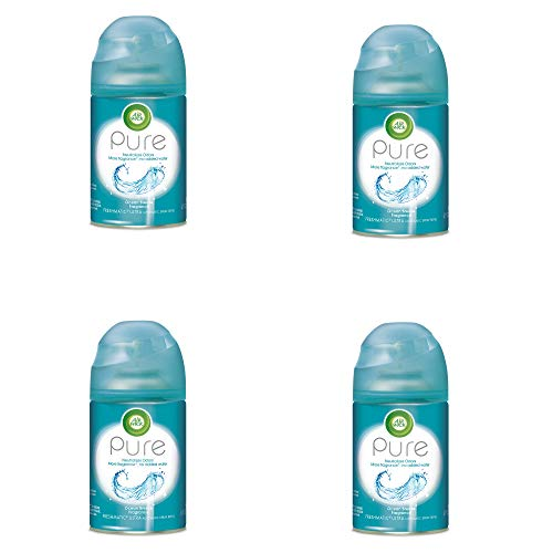 Air Wick Pure Freshmatic 4 Refills Automatic Spray, Ocean Breeze, (4X6.17oz), Air Freshener