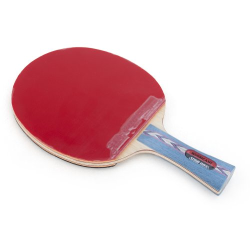 DHS HURRICANE-II Tournament Ping Pong Paddle, Table Tennis Racket - Shakehand with a LANDSON Rubber Protection