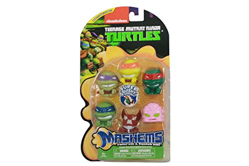 Tech 4 Kids TMNT Mash'ems Series 3 Value Pack]()