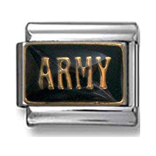 Army Italian Charm - Army Italian Charm