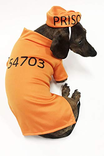 Midlee Orange Prisoner Costume -