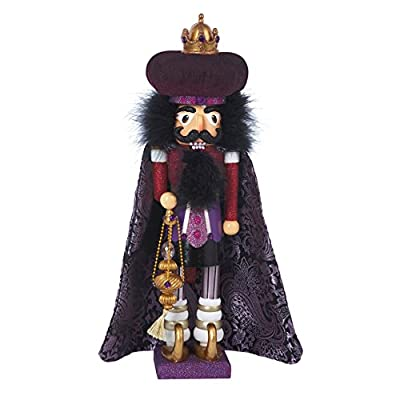 Hollywood Nutcrackers Kurt Adler Hollywood King Nutcracker, 18-Inch
