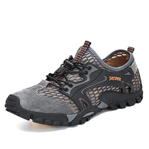 Femmes Eau Aqua Trekking En Gris Summer Flarut Sneaker Mesh Running Trailing Upper Chaussures Lger Sandales Marche Randonne Air Sport Formateur De Camping Hommes Plein wS7OxBC