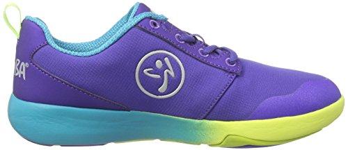 Zumba Womens Court Flow Dance Workout Shoes Purple F3e1jj