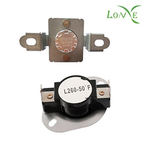Clothes Dryer Thermostat Assembly (LONYE DC96-00887A& DC47-00018A Dryer Thermostat Thermal Fuse Assembly for Samsung Dryer (DC96-00887A& DC47-00018A))