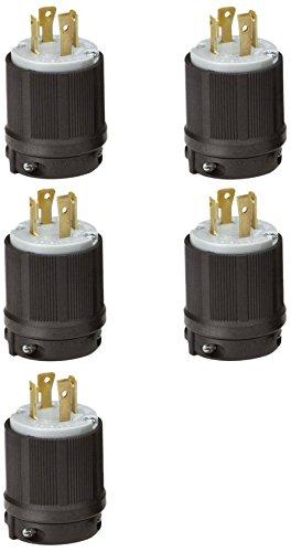 cUL Listed 20A 125V AC OCSParts L5-20R Grounding Locking Connector 2 Pole 3 Wire NEMA L5-20