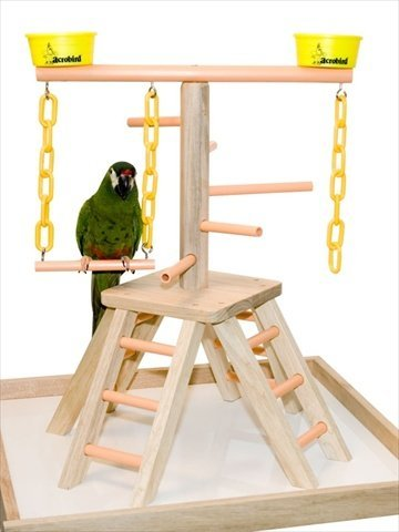 Acrobird PB20 Pyramid with Base Pet Toy, 20-Inch