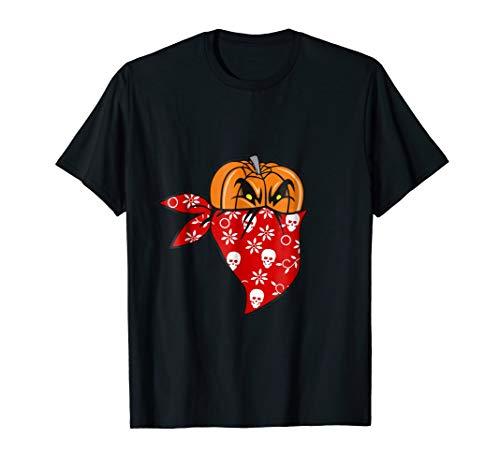 Gangster Pumpkin Halloween Constume T-Shirt Gift for $<!--$14.99-->