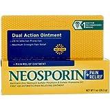 Neosporin Plus Pain Relief, Maximum Strength Antibiotic Ointment 1 oz (Pack of 5)
