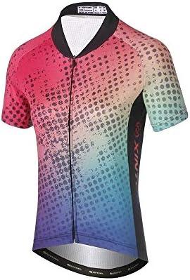 新しい夏のサイクリングウェアサイクリングウェア水分発散性通気性ショートジャケットセット