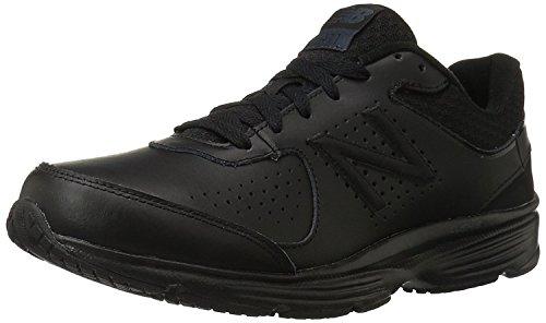 New Balance Mens MW411v2 Walking Shoe, Negro, 46.5 EU/11.5 UK