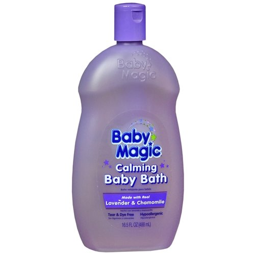 Baby Magic Calming Baby Bath , Lavender & Chamomile 16.5 ...