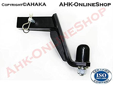 2 inch receiver // 50 x 50 mm USA Vehicles drop // lowering 115 mm Towbar Adapter Tow Hitch Ball Bar Adaptor Towing Hitch