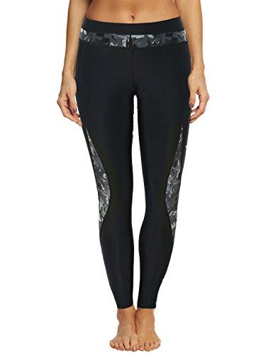 - Septangle Women's Yoga Running Swim Surfing Long Tights Leggings Pants, US 16