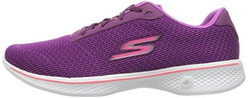 Basses prpk Walk Violet 4 Femme Glorify Baskets Go Skechers wXf8xqRAq