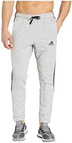 [adidas(アディダス)] メンズパンツ・長ズボン・ジャージ下 Must Have 3-Stripe Pants Medium Grey Heather/Black 2XL (2XL) 28 [並行輸入品]