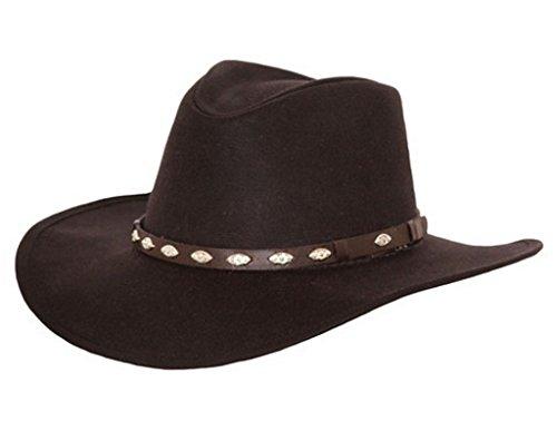 ecef3b31626e7 Outback Trading Co Men s Co. Oilskin Badlands Hat Brown Large ...