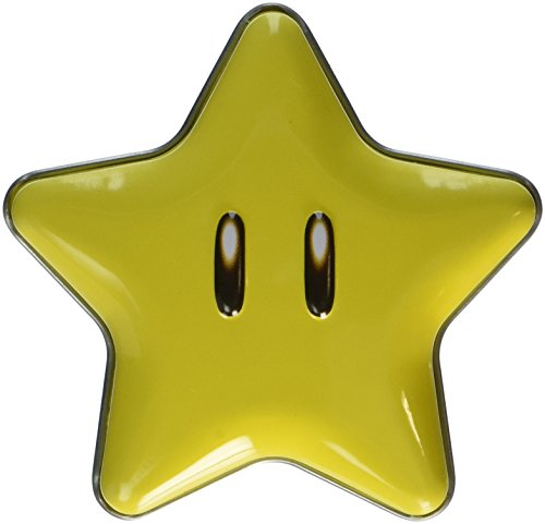New Super Mario Brothers Super Star Tin(one) with star candies - Mario Super Star