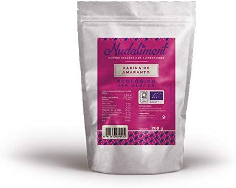 Harina de amaranto ecológico NUDALIMENT (750 gr)