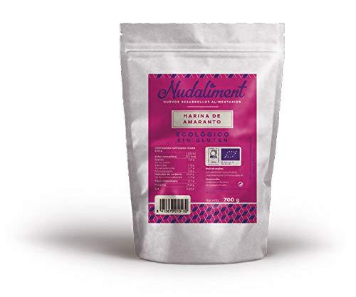 Harina de Amaranto ECOLÓGICA Sin Gluten 700 gr: Amazon.es: Alimentación y bebidas