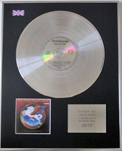 - STEVE MILLER BAND Limited Edition CD Platinum Disc -BOOK OF DREAMS