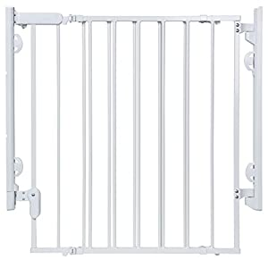 Safety 1st Ready To Install Everywhere Gate, White