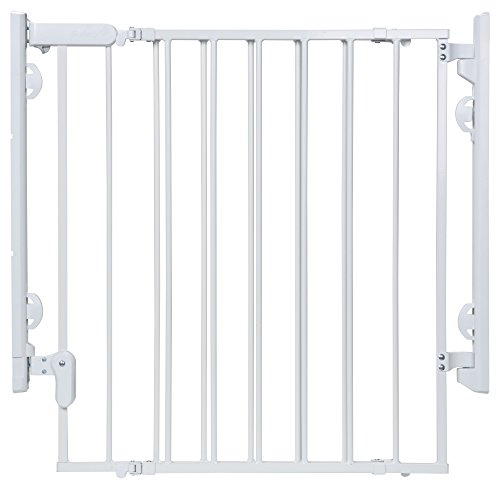 Safety 1st Ready to Install Gate, White by Safety 1st