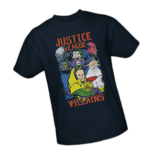 Villian Tee - Villians -- Justice League Youth T-Shirt, Youth Small