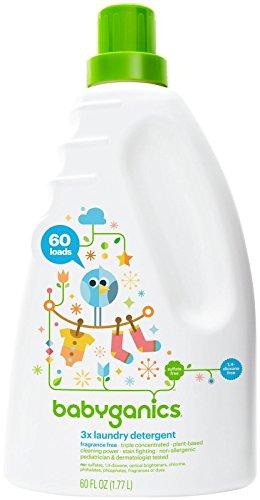 Babyganics Baby Laundry Detergent - Fragrance Free - 60 oz