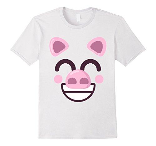 Pig Face Shirt | Cool Vibrant Swine Fan T-shirt Gift