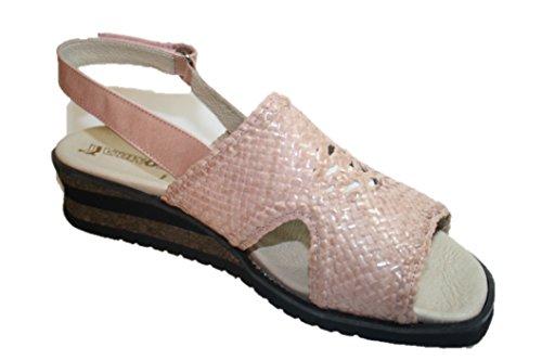 Romika - Sandalias de vestir de cuero para mujer marfil marfil marfil - Rosa (rose 310)