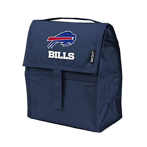 NFL Buffalo Bills PACKit Freezable Lunch Bag, (Bills Bag)