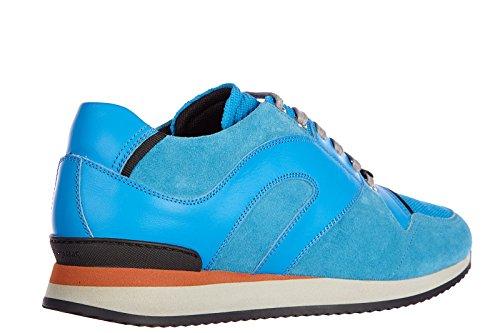 Dior chaussures baskets sneakers homme en cuir b12 blu