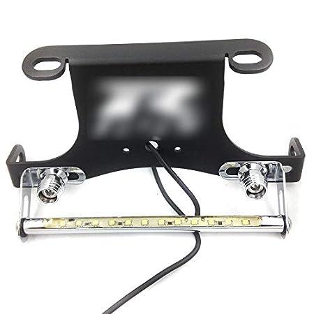 HTT Black LED light Fender Eliminator Tidy Tail GSXR Logo For 1996-2012 Suzuki GSXR600 GSX-R750// 2001-2012 Suzuki GSXR 1000