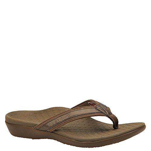 Vionic Women's Tide II Bronze Metallic Sandal 9 Medium -
