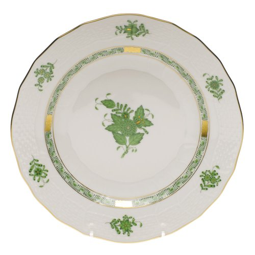 Herend Chinese Bouquet Green Dessert Plate by Herend (Image #1)