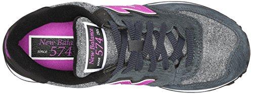 New Balance Wl574bfl - Zapatillas Mujer Azul Grisáceo / Morado