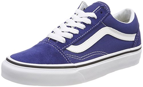 Vans Old Skool, Chaussures de Running Mixte Adulte Bleu (Estate Blue/true White Q9w)