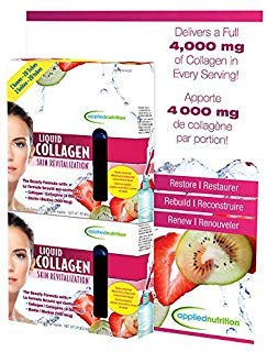 Applied Nutrition Liquid Collagen Skin Revitalization, 20 Count 3.35 Fl Ounce