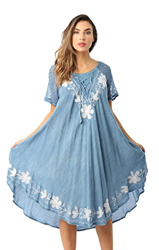 - Riviera Sun Dress Dresses For Women Medium Denim Small