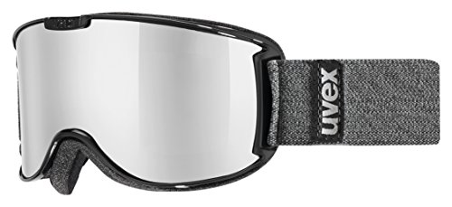 Uvex Skyper German Made Goggles, Grey Frame/Gold Lite Lens, Small