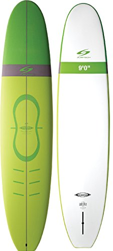 Surftech Learn2Surf Softop Surfboard   Super Durable Soft Surf Board   Includes Fins (9'0